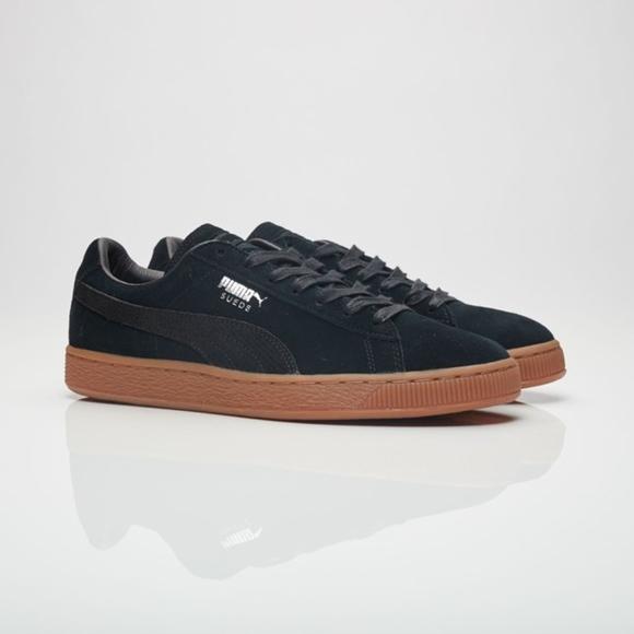 Daim Sneaker Mode Classique Pour Hommes Citi Pumas shSNJ
